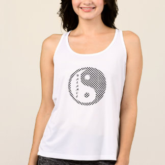 Balansera - bästa Yin Yang Yoga T-shirt
