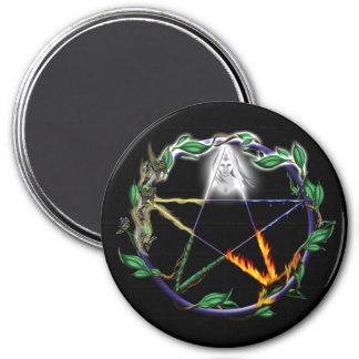 """""""Balansera"""" - den elementära pentaclen Magnet"""