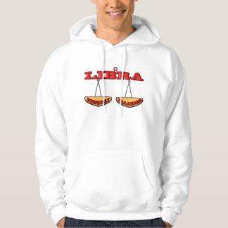 Balanserad libra-Perfekt (fjäll) Sweatshirt Med Luva