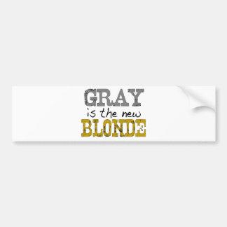 Bald är den nya blondinen bildekal