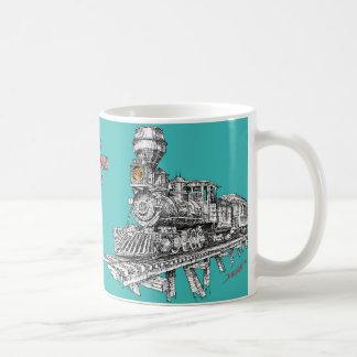 Baldwin 1880 2-8-0 kaffemugg