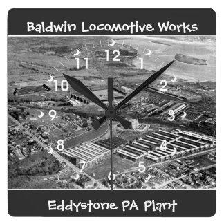 Baldwin rörliga arbeten, Eddystone Pennsylvania Fyrkantig Klocka