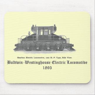 Baldwin Westinghouse elektrisk lokomotiv 1893 Musmatta