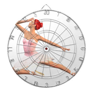 Balett arrangerar pilbågen piltavla