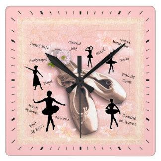 Balett Fyrkantig Klocka