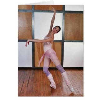 Balett kvadrerar 4 hälsningskort