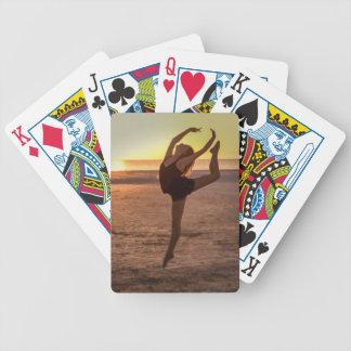 Balett på stranden spelkort