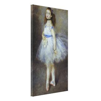 Balettdansör av Pierre Renoir, vintagekonst Canvastryck
