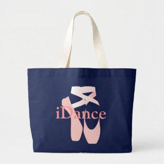 Balettdansör toto hänger lös jumbo tygkasse