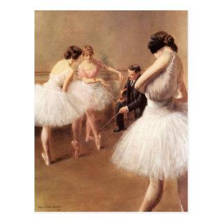 Balettkursen vid den Pierre Bäraren-Belleuse Vykort