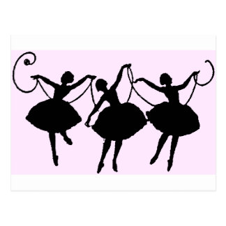 Balettmerchandise Vykort