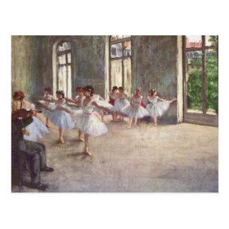 Balettrepetitionen Degas by Vykort