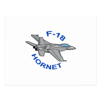 Bålgeting F-18 Vykort