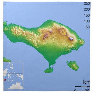 Bali karta tygservett