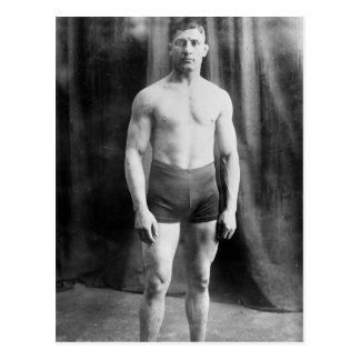 Balkan brottare Yussif Hussane, 1915 Vykort