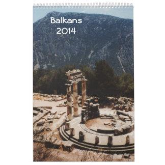 Balkans 2014 kalender