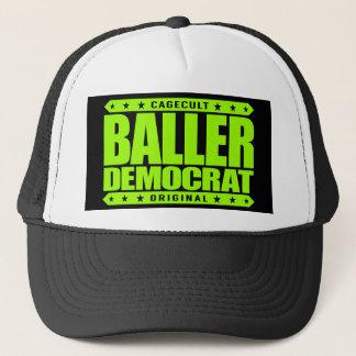 BALLER-DEMOKRAT - barmhärtig frisinnad gangster Truckerkeps