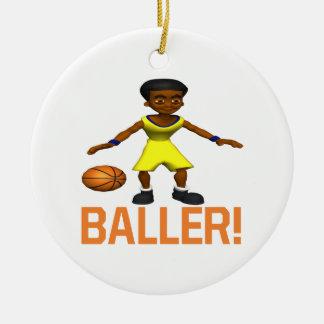 Baller Julgransprydnad Keramik