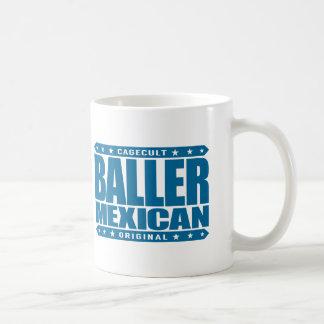 BALLER-MEXIKAN - en forntida Mayan gangsterkrigare Kaffemugg