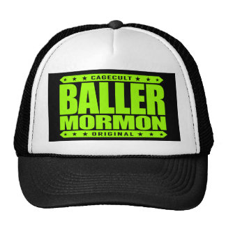 BALLER-MORMON - nutida Sanktt kyrklig gangster Keps