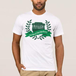Baller universiteten t-shirt