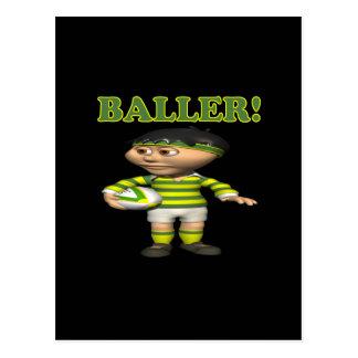 Baller Vykort