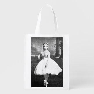 Ballerina 1870. återanvändbar påse