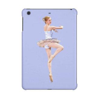 Ballerina i lilor och vit