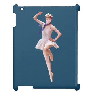 Ballerina i sjömandräktanpassade iPad fodral