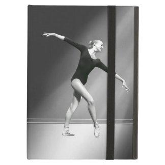 Ballerina i svartvit anpassade iPad air fodral