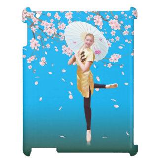 Ballerina- och körsbärblommar iPad mobil skal