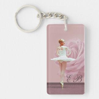 Ballerina och ro skräddarsy Monogram