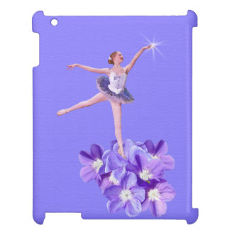 Ballerina- och Violetsanpassade iPad Skydd
