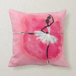 Ballerina på barren kudde