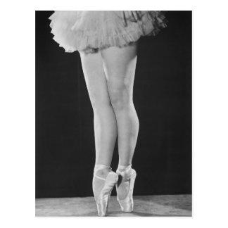 Ballerina Vykort