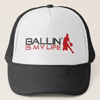 Ballin är mitt liv Streetball Keps