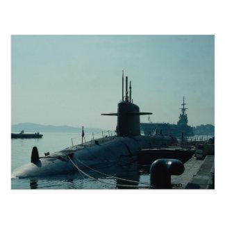 """Ballistisk missilubåt SSB för USS Ulysses Grant"""" Vykort"""