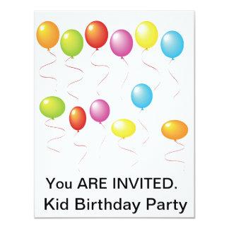 Ballnoos födelsedagsfest inbjudan