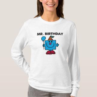 Ballong för grattis på födelsedagen för Herr Tshirts