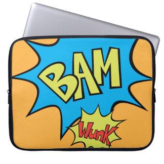 "Ballong för humorbok ""Bam"" Laptop Fodral"