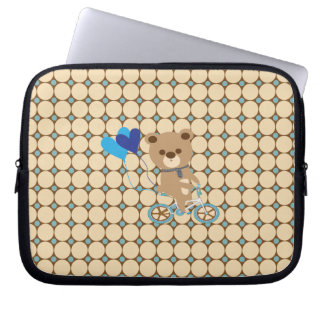 Ballongbjörn Laptop Sleeve