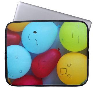 ballongemoticons laptop sleeve