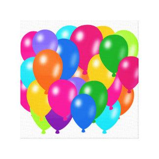 Ballonger Canvastryck