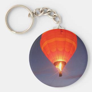 Ballongglöd Rund Nyckelring