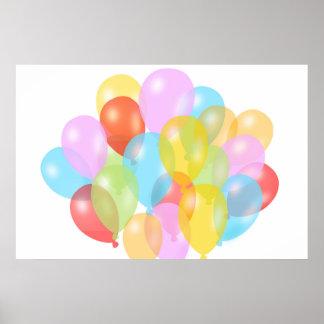 Ballongsammansättning Poster