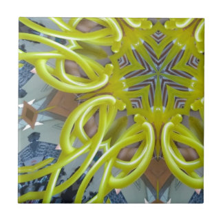 Ballongsolsken Kakelplatta