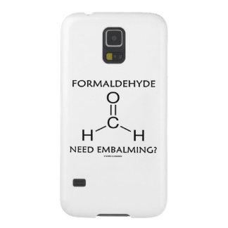 Balsamera för Formaldehydebehov? (Kemimolekyl) Galaxy S5 Fodral