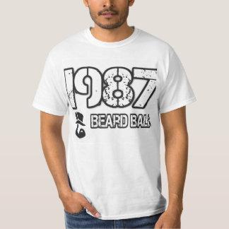 BalsamT-TRÖJA för 1987 skägg T Shirts
