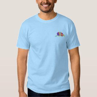 Bältdjur Broderad T-shirt