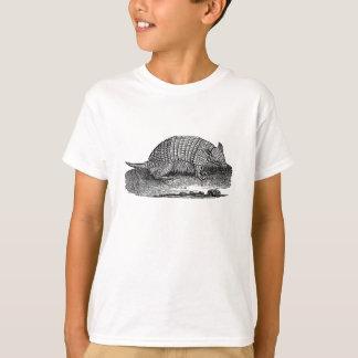 Bältdjur för antikvitet för bältdjur för tshirts